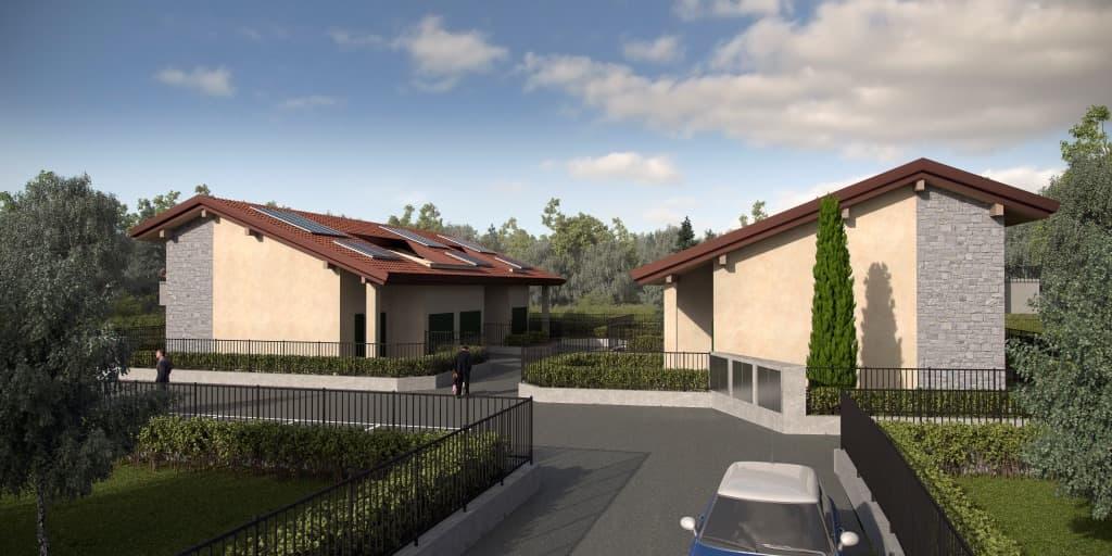Villette di nuova costruzione in Appiano Gentile (CO)