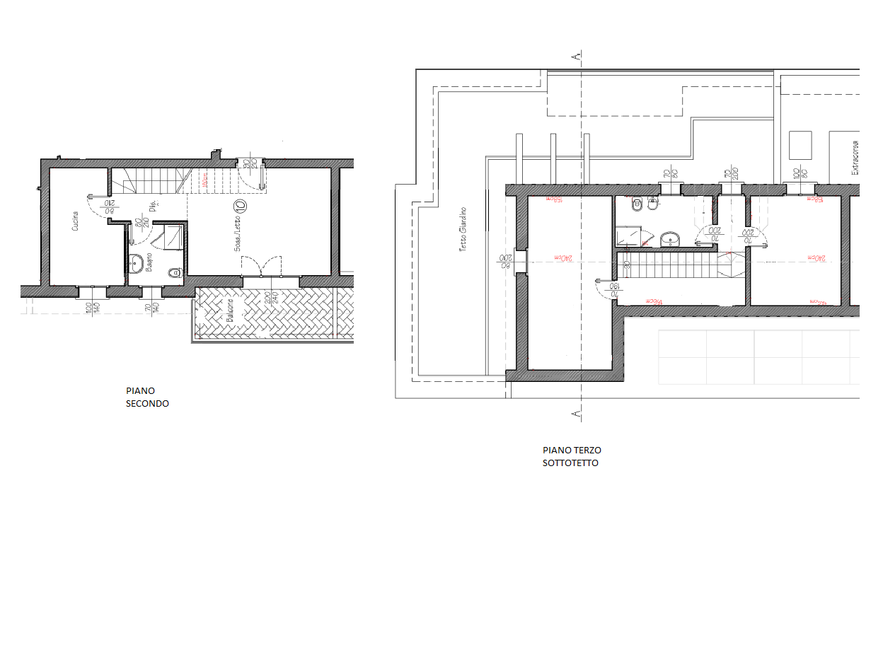 Duplex con Giardino Pensile