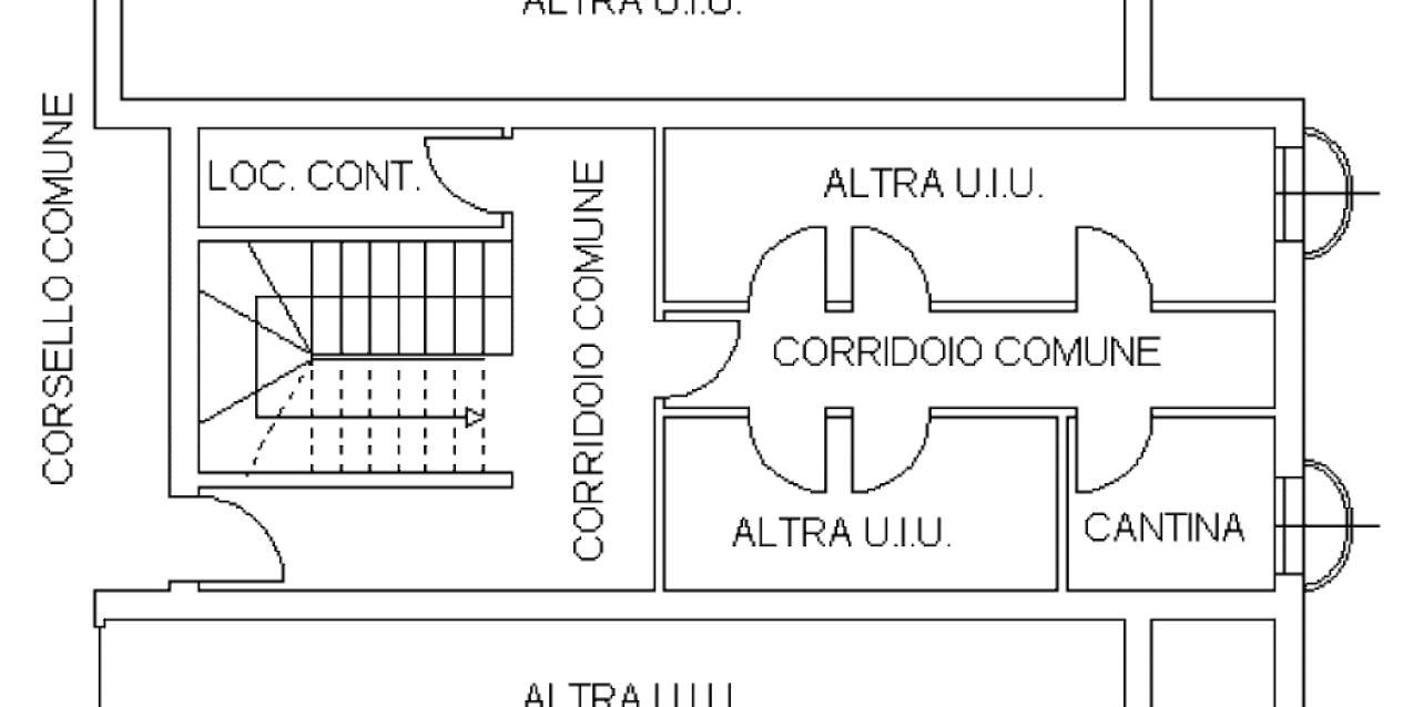 Piano Interrato Cantina