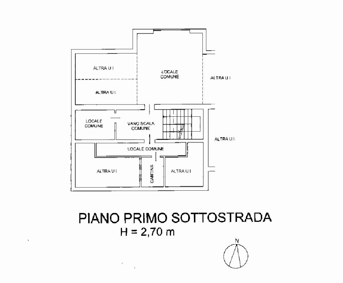 Cantina piano interrato